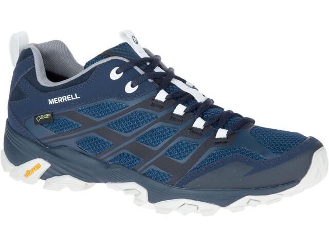 Merrell Moab FST GTX - Chaussures Homme - gris/bleu